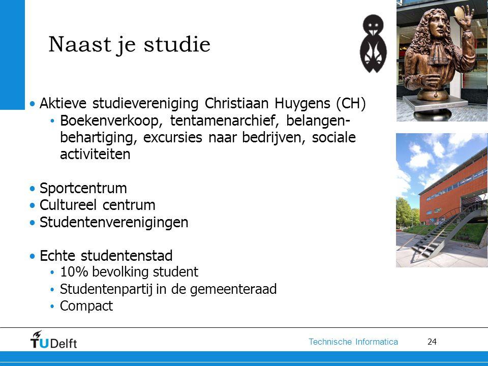 Naast je studie Aktieve studievereniging Christiaan Huygens (CH)