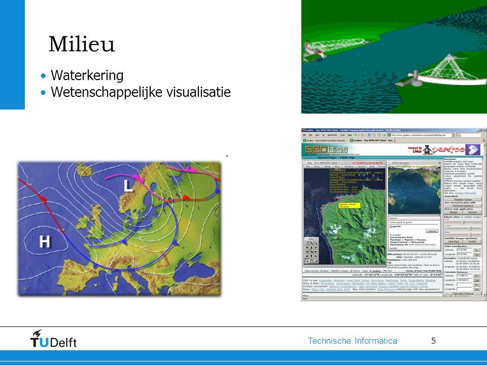 Milieu Waterkering Wetenschappelijke visualisatie