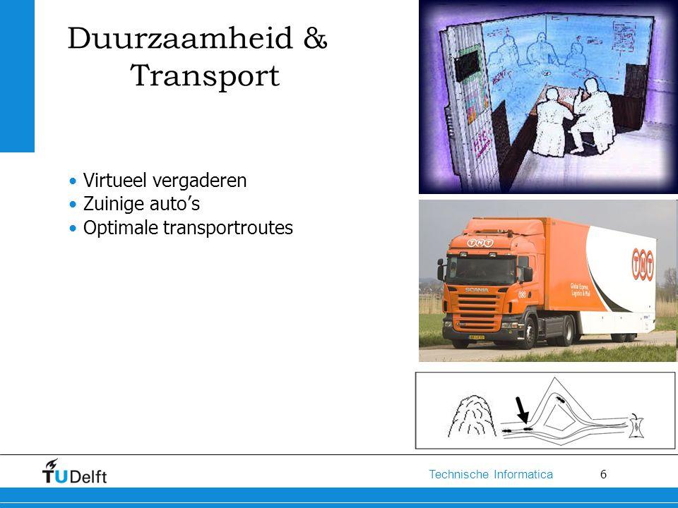 Duurzaamheid & Transport