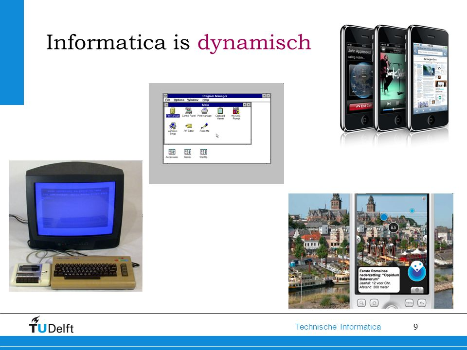 Informatica is dynamisch