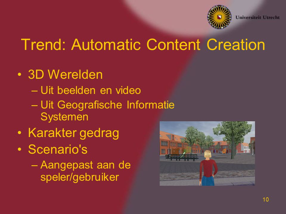 Trend: Automatic Content Creation