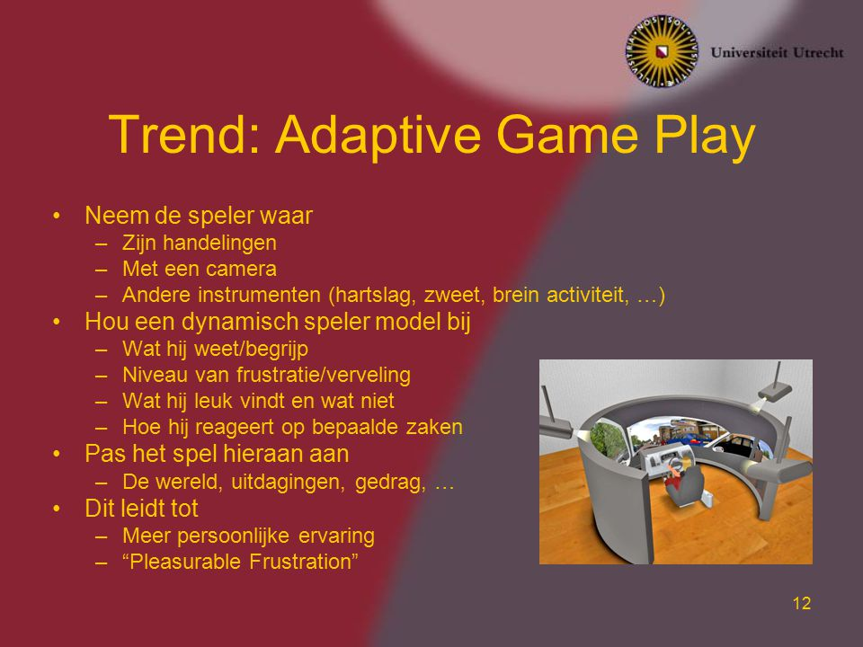 Trend: Adaptive Game Play
