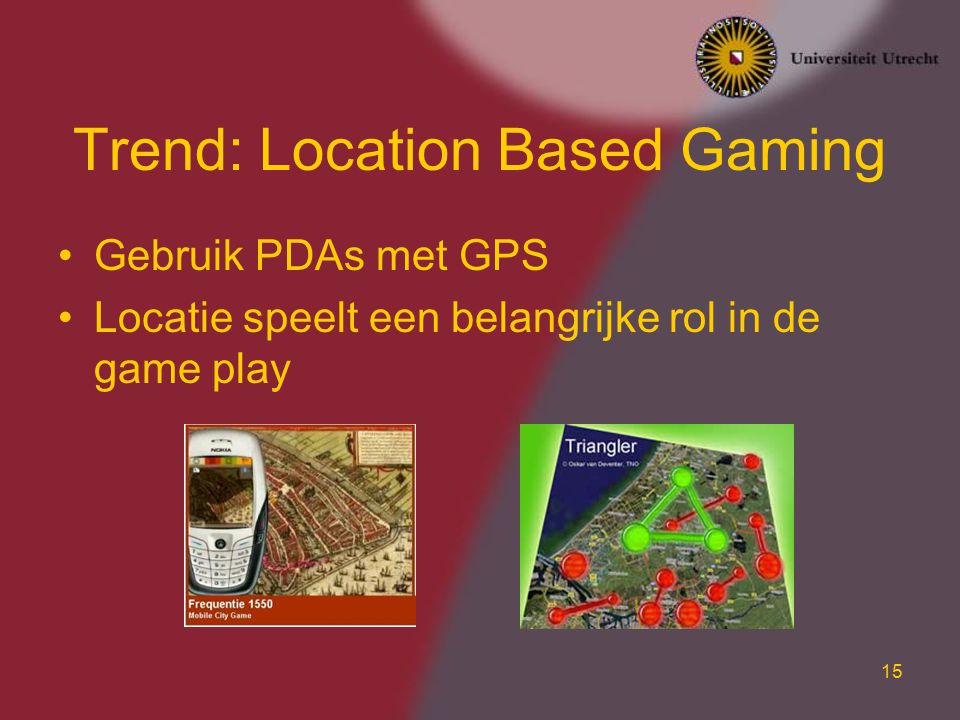 Trend: Location Based Gaming