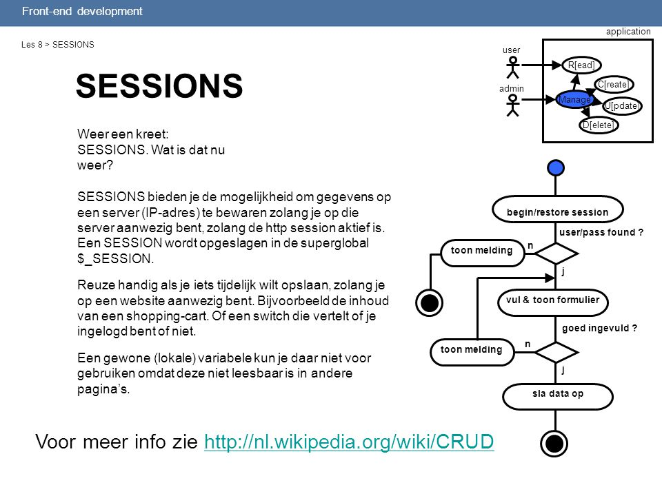 begin/restore session
