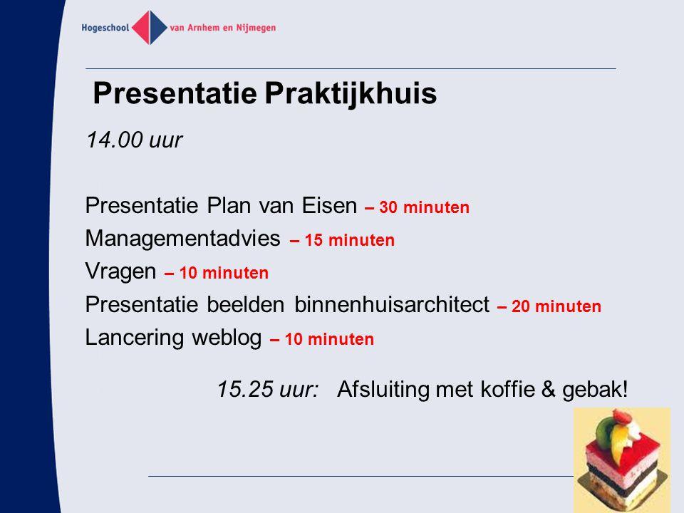 Presentatie Praktijkhuis