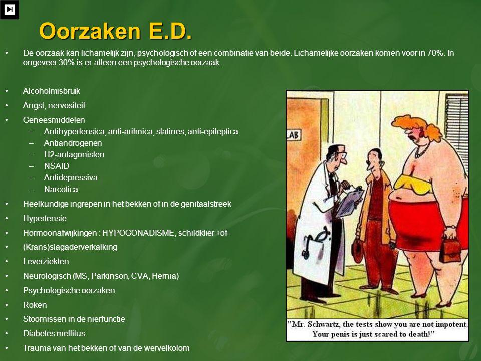Oorzaken E.D.