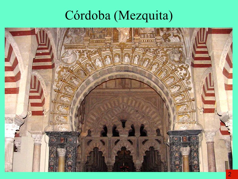 Córdoba (Mezquita) 2