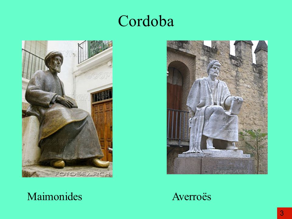 Cordoba Maimonides Averroës 3
