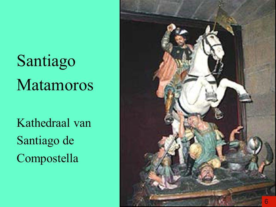 Santiago Matamoros Kathedraal van Santiago de Compostella 6