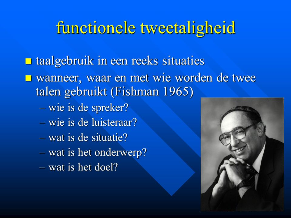 functionele tweetaligheid