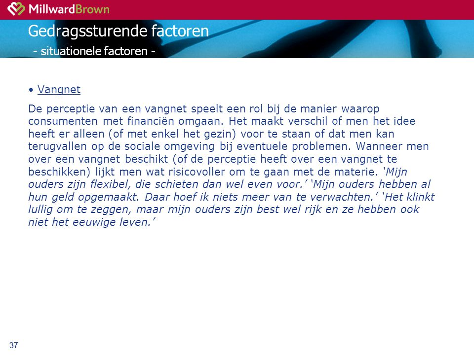 Gedragssturende factoren - situationele factoren -