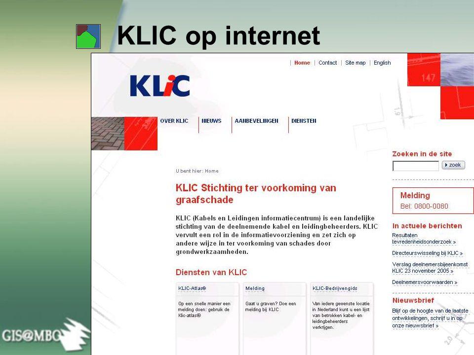 KLIC op internet