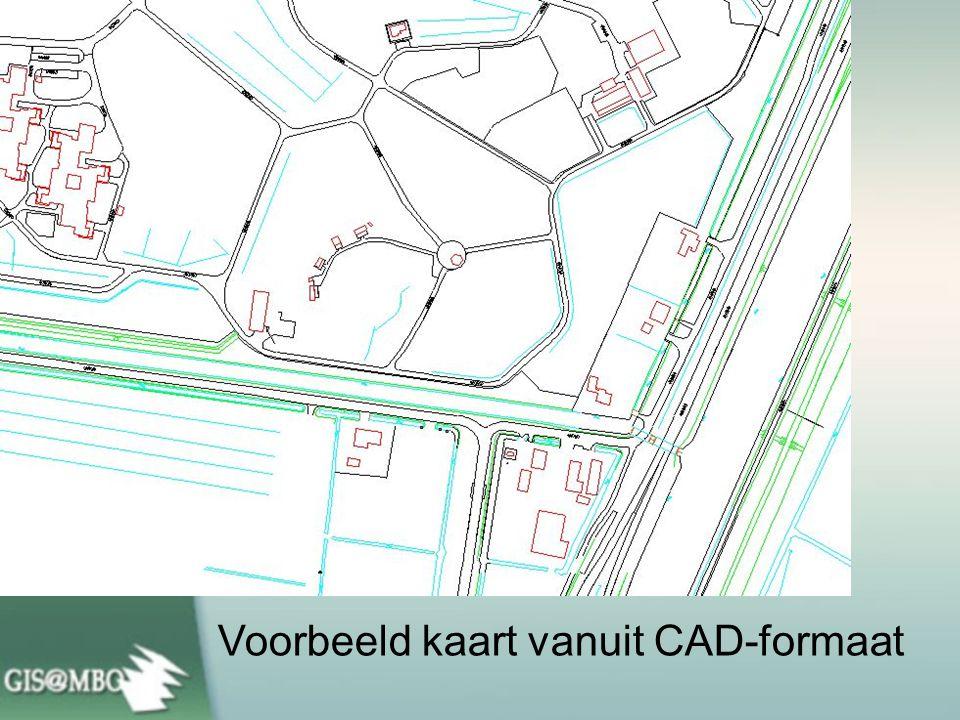 Voorbeeld kaart vanuit CAD-formaat