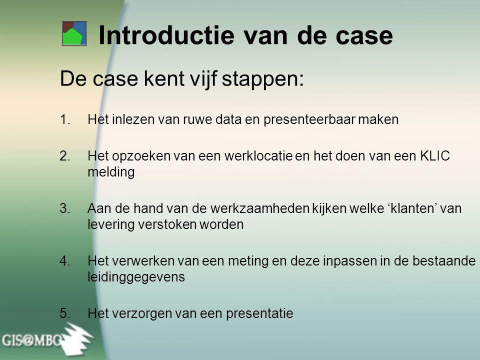 Introductie van de case