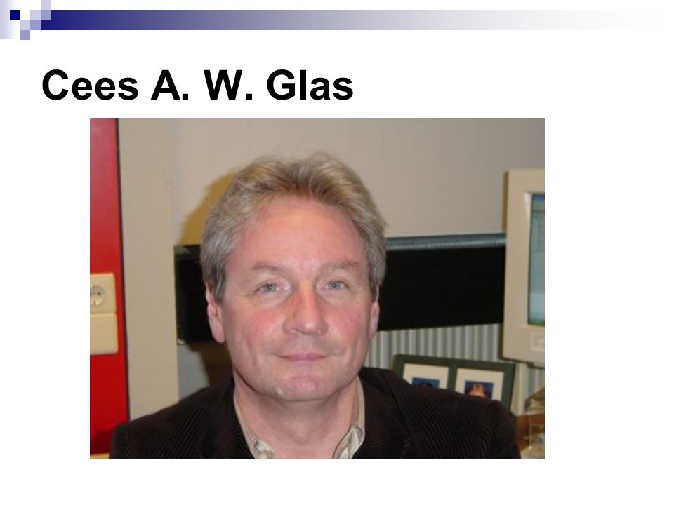 Cees A. W. Glas