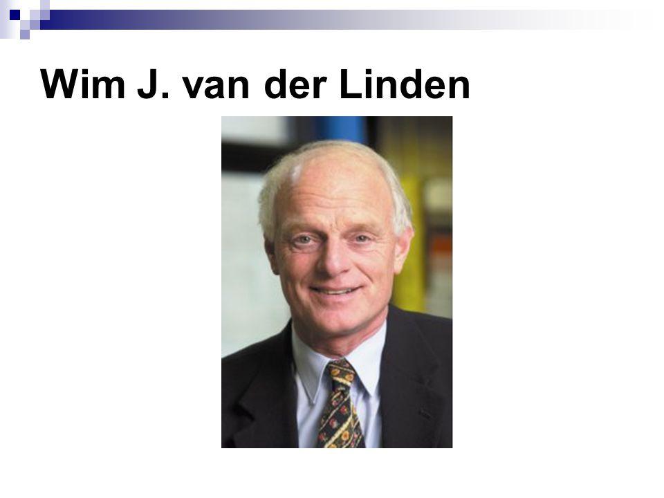 Wim J. van der Linden