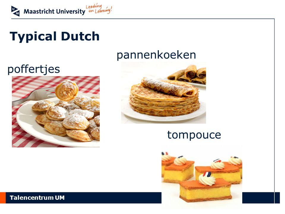 Typical Dutch pannenkoeken tompouce poffertjes