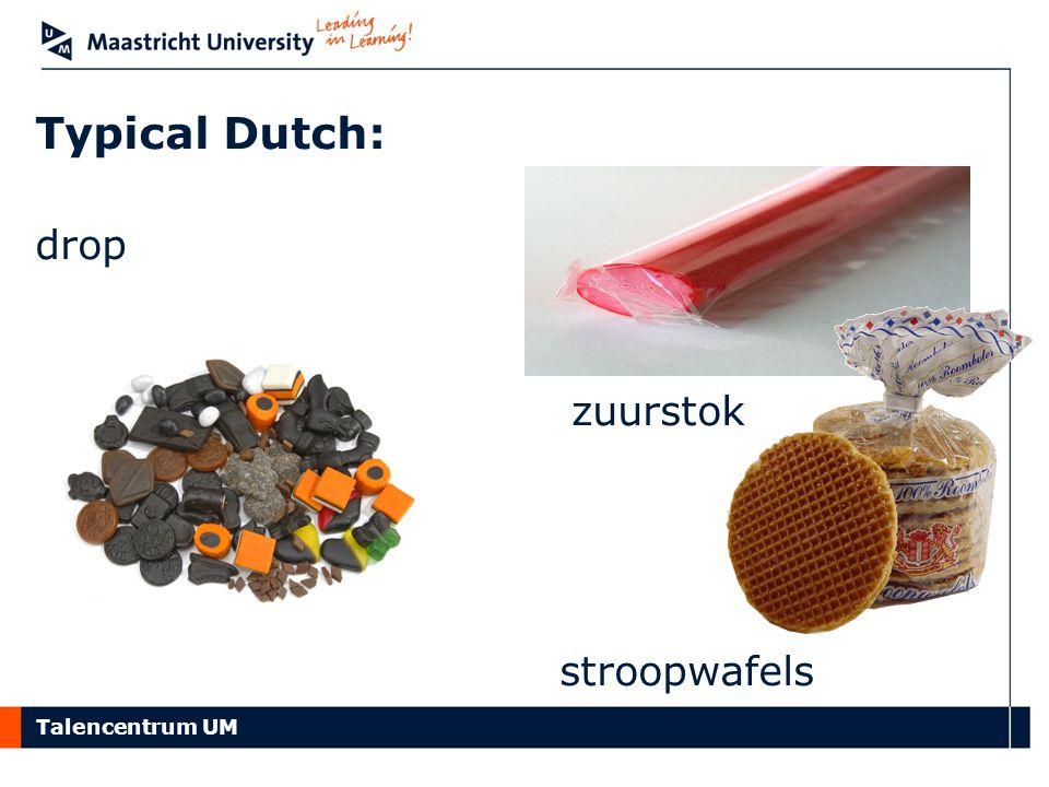 Typical Dutch: drop stroopwafels zuurstok