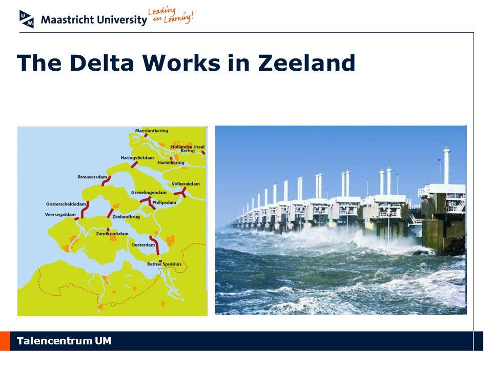 The Delta Works in Zeeland