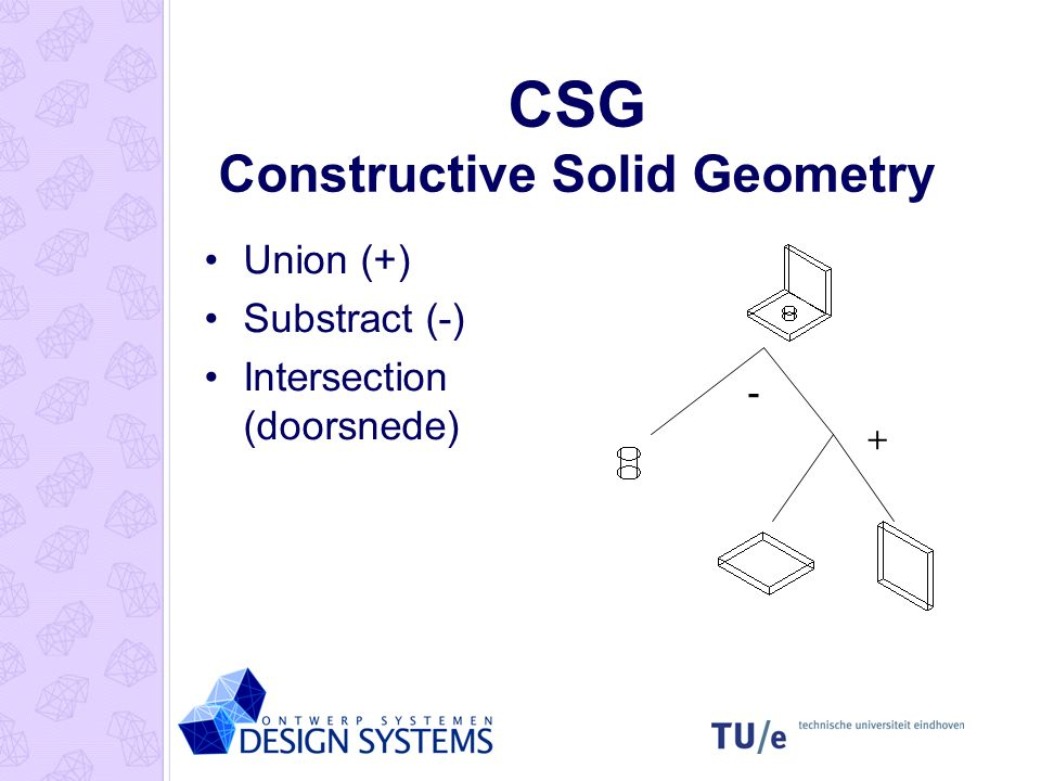 CSG Constructive Solid Geometry