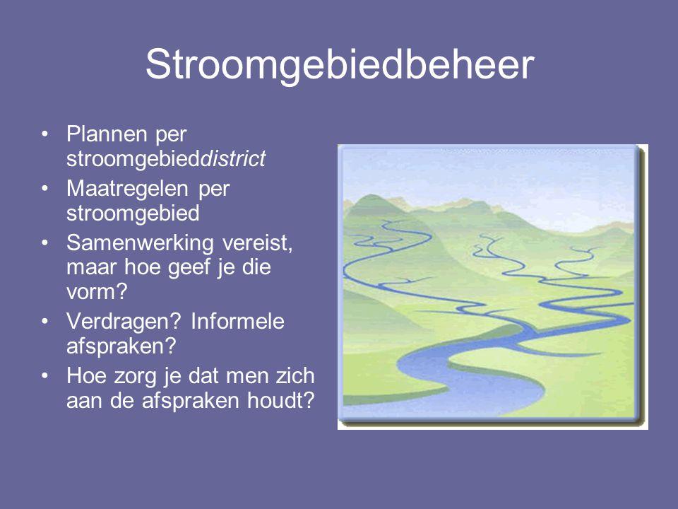 Stroomgebiedbeheer Plannen per stroomgebieddistrict