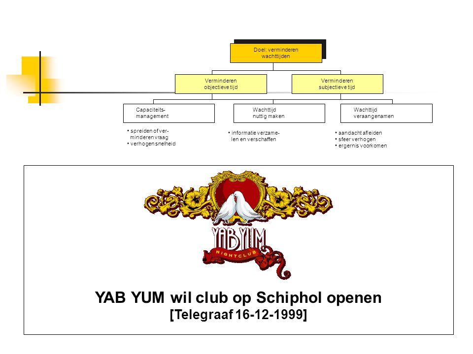 YAB YUM wil club op Schiphol openen