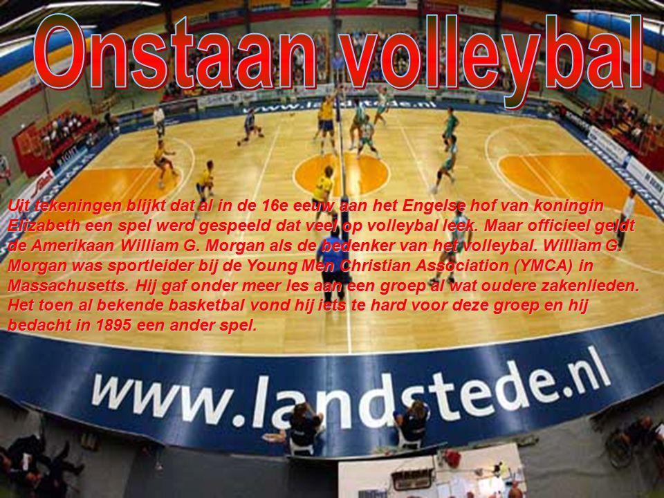 Onstaan volleybal