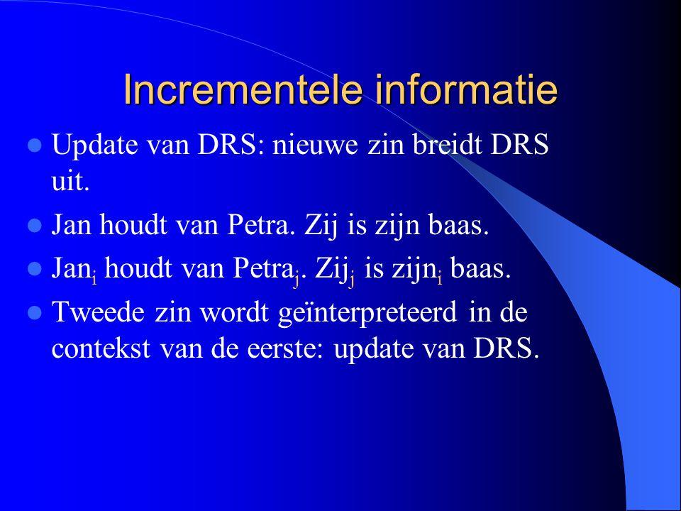 Incrementele informatie