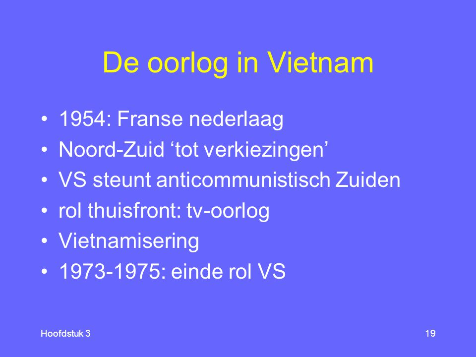 De oorlog in Vietnam 1954: Franse nederlaag