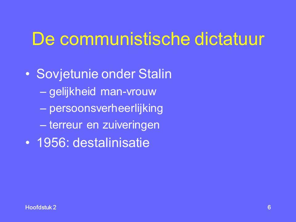 De communistische dictatuur