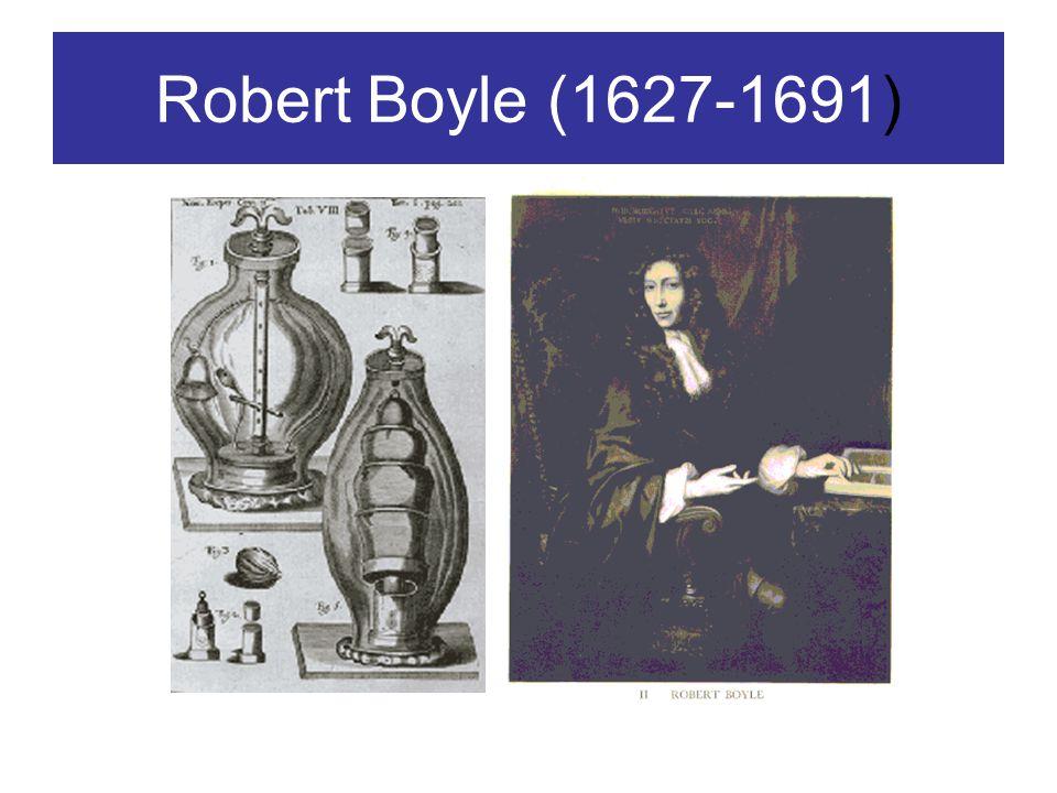 Robert Boyle (1627-1691)