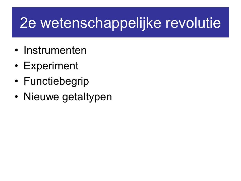 2e wetenschappelijke revolutie