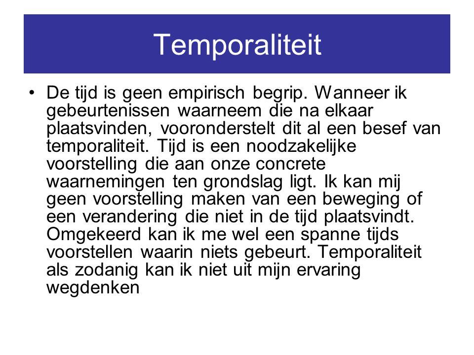 Temporaliteit