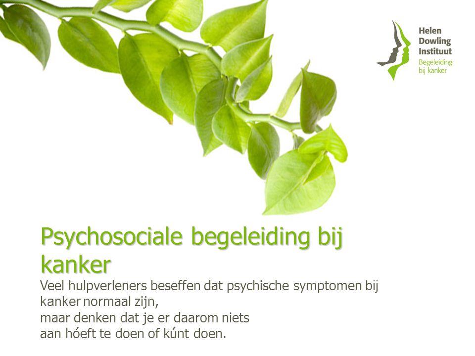 Psychosociale begeleiding bij kanker