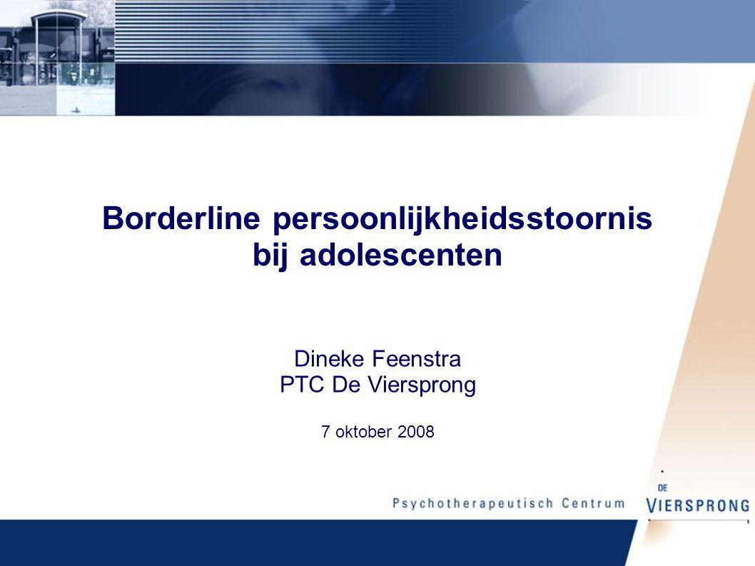 Borderline persoonlijkheidsstoornis bij adolescenten