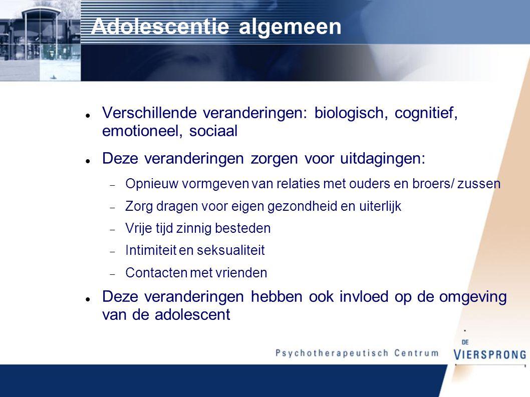 Adolescentie algemeen