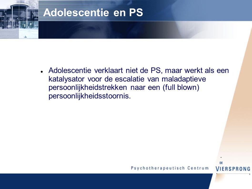 Adolescentie en PS