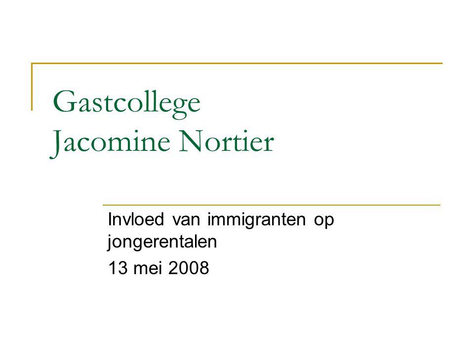 Gastcollege Jacomine Nortier