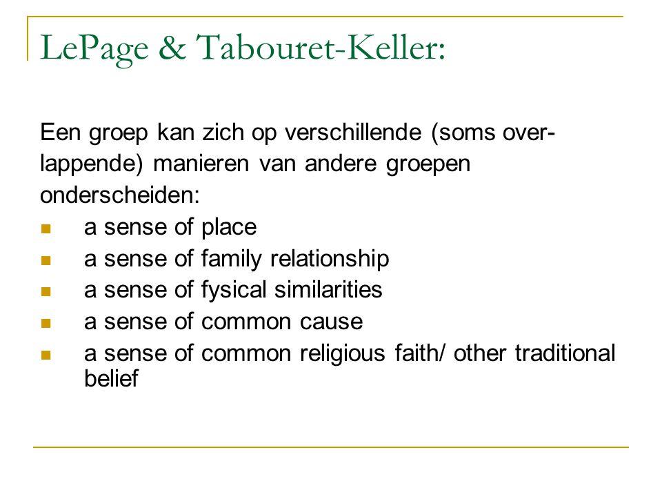 LePage & Tabouret-Keller: