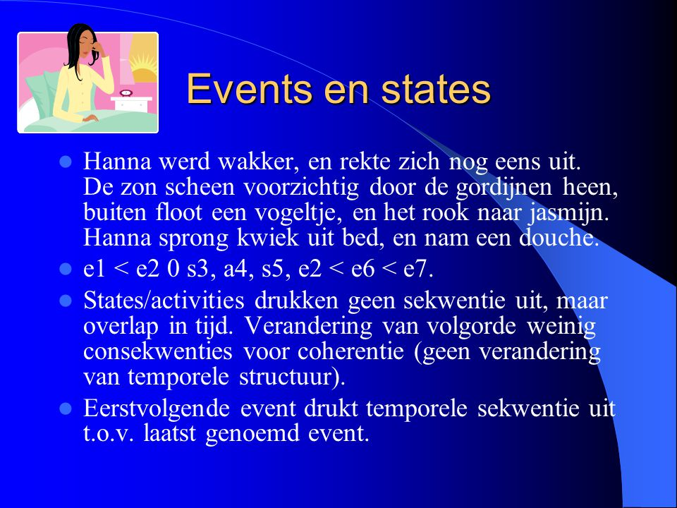 Events en states