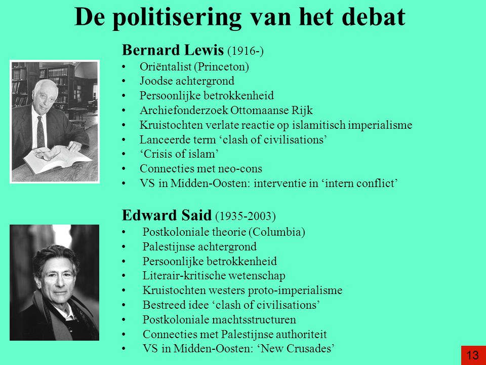 De politisering van het debat