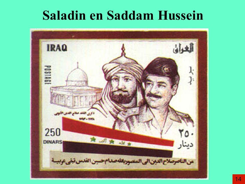Saladin en Saddam Hussein