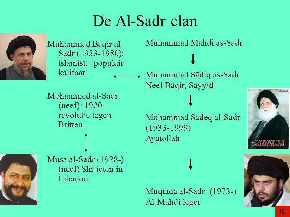 De Al-Sadr clan Muhammad Mahdi as-Sadr