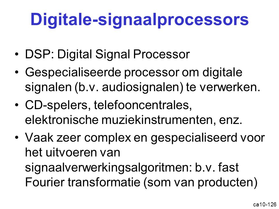 Digitale-signaalprocessors