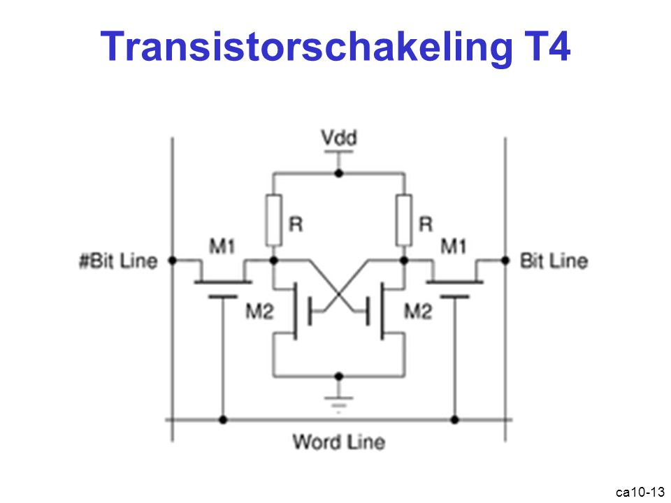 Transistorschakeling T4