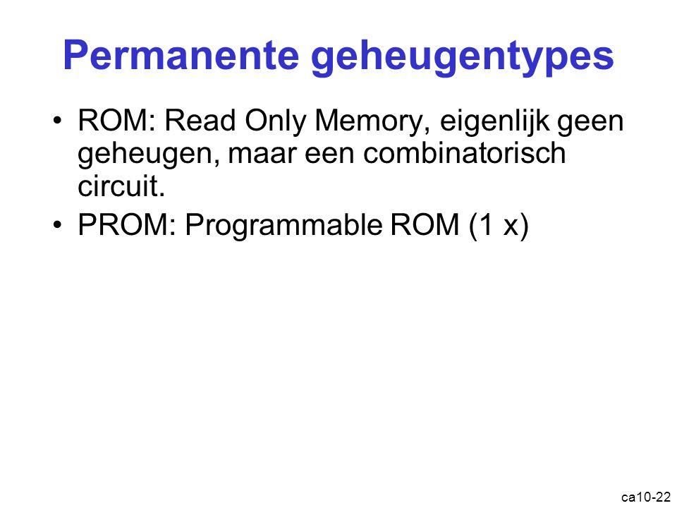 Permanente geheugentypes