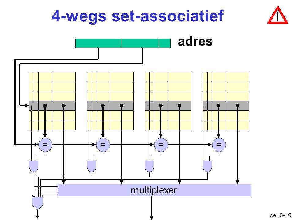 4-wegs set-associatief