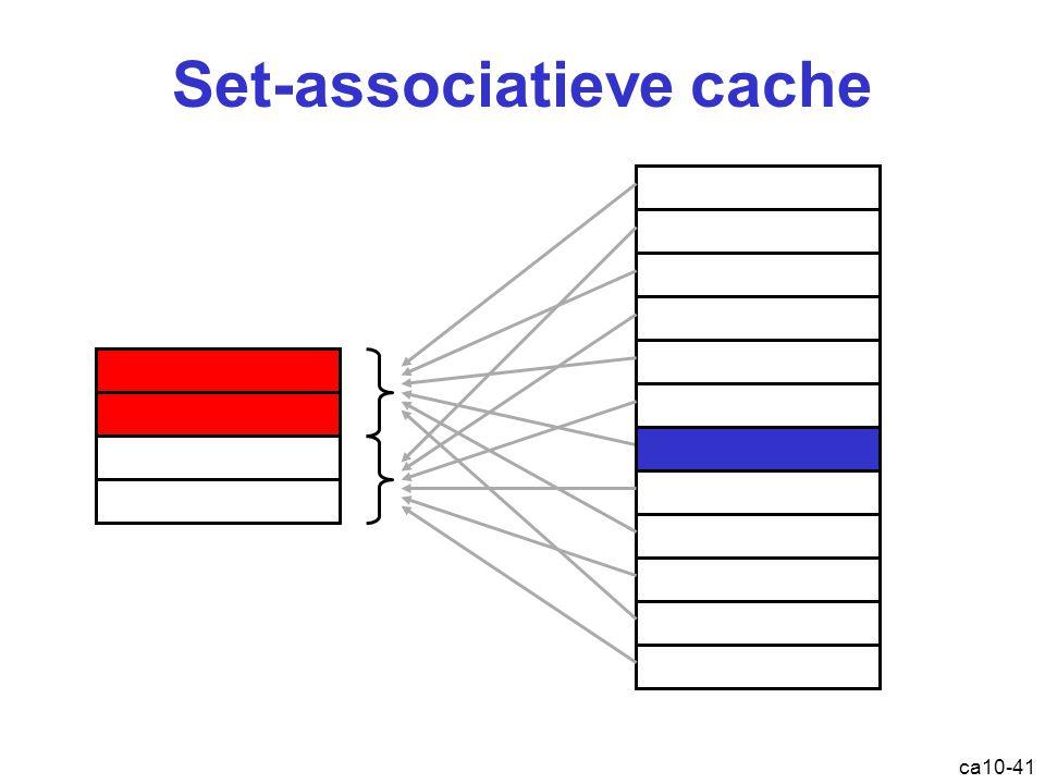 Set-associatieve cache