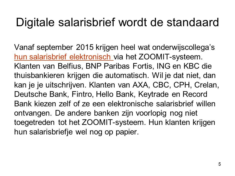Digitale salarisbrief wordt de standaard