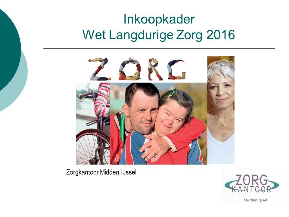Inkoopkader Wet Langdurige Zorg 2016